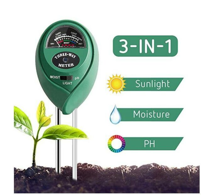 Pancellent 12 In 1 Soil Meter 3 In 1 Moisture Sensor Sunlight Ph 9pcs Bonsai For Sale Online Ebay