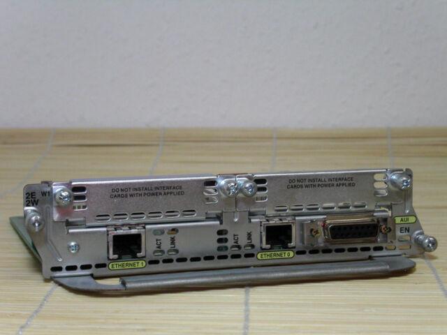 Cisco NM-2E2W (2-Port Ethernet, 2 x WIC Slots) Module
