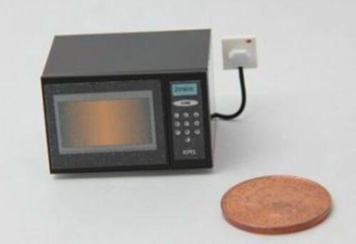 DOLLS HOUSE miniatura 1//12 scala handmade Forno a microonde-non lavorativo
