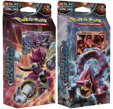 POKEMON TCG XY STEAM SIEGE BOTH THEME DECKS GEARS FIRE & RING LIGHTNING