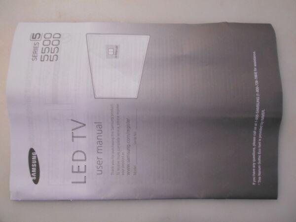 Samsung Un40j5500afx User Manual