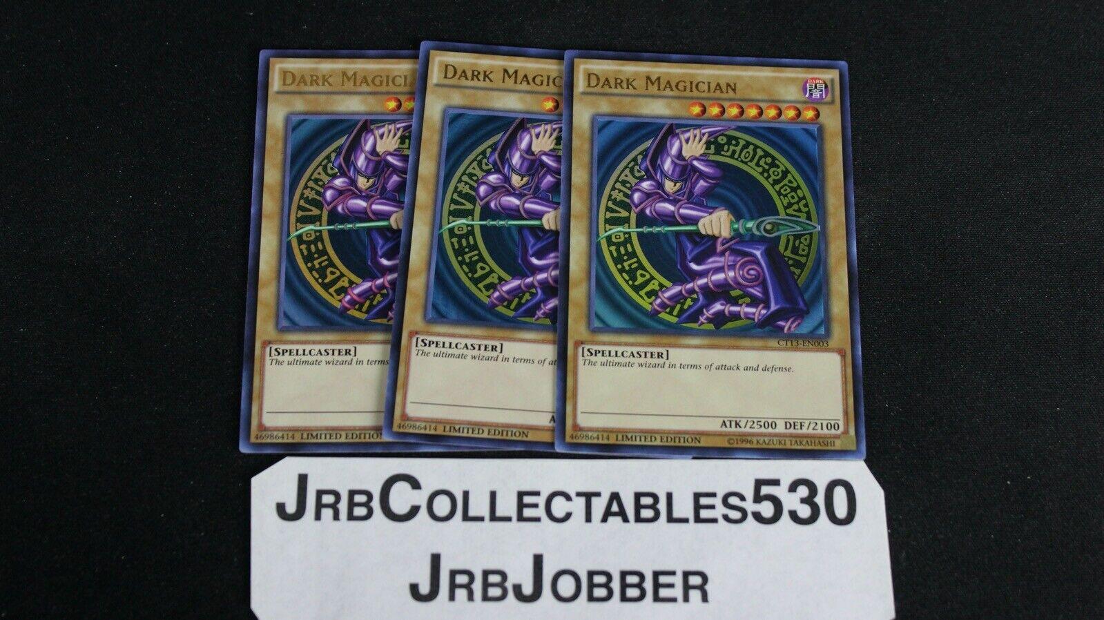 Dark Magician Ultra Rare Limited Edition CT13-EN003 Mint Yugioh