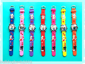 Frozen-Watch-Girls-Silicone-Strap-Elsa-Anna-Birthday-FREE-GIFT