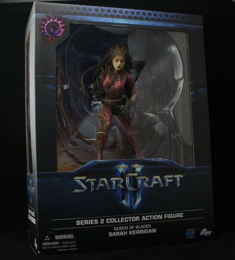 DC Direct STARCRAFT II SARAH KERRIGAN QUEEN OF BLADES kerrigan ACTION FIGURE