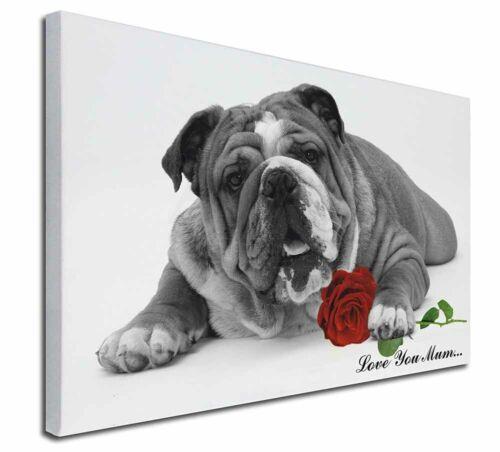 "Bulldog B+W AD-BU7R2lym-C3020 Extra L /'Love You Mum/' 30/""x20/"" Wall Art Canvas"