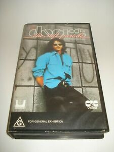 THE-DOORS-THE-SOFT-PARADE-DOCUMENTRY-VHS-VIDEO-TAPE-PAL-FREE-POSTAGE