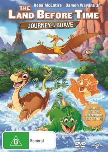 1 of 1 - The Land Before Time - Journey Of The Brave (Dvd) Animation, Adventure, Family