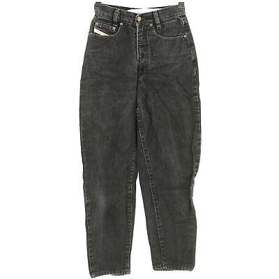 #4315 Diesel Jeans Donna Pantaloni Patrol Denim Black Used Nero 28/26-mostra Il Titolo Originale
