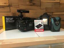 Blackmagic Design Ursa 4k V2 Digital Cinema Camera Canon Ef Mount For Sale Online Ebay