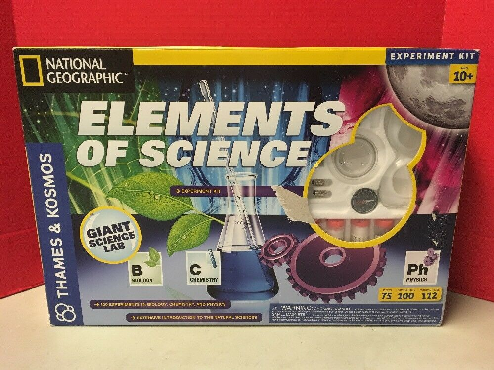 Elements Of Science Kit National Geographic Thames And Kosmos