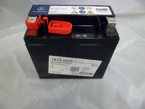 Genuine mercedes benz aux auxiliary battery 12v 12ah for Genuine mercedes benz battery