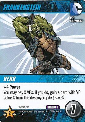 NICK NECRO 2016 DC Comics Deck Building Game CRISIS 3 JUSTICE LEAGUE DARK
