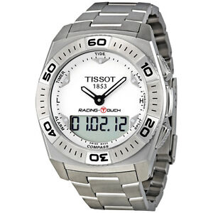TISSOT-RACING-TOUCH-CHRONOGRAPH-DATE-ST-STEEL-MEN-039-S-WATCH-T002-520-11-031-00-NEW
