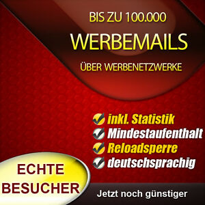standalone newsletter als paidmail an bis zu empf nger statistik ebay. Black Bedroom Furniture Sets. Home Design Ideas