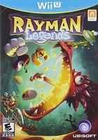 Rayman Legends Nintendo Wii U Wiiu Game Brand And Sealed