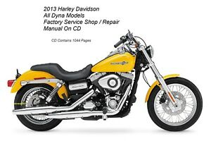 2013 Harley Dyna Models Service /& Electrical Diagnostic Manual USB Flash Drive