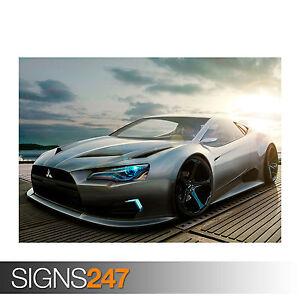 MITSUBISHI CONCEPT (0377) Car Poster - Picture Poster Print Art A0 A1 A2 A3 A4