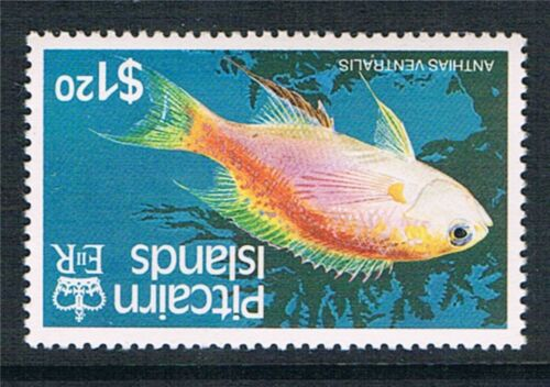 PITCAIRN ISLANDS 1984-88 FISH + $1.20 INV.WMK ALL MNH (16v)