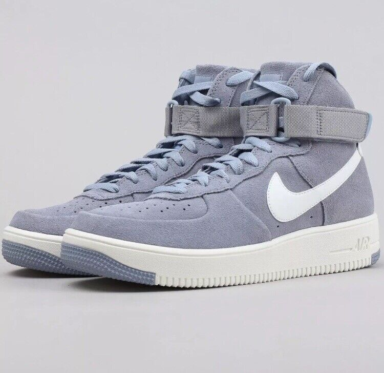 Nike Nike Nike Air Force 1 Ultraforce HI UK 7 Glacier Grey 880854-004 Suede Trainers b1643c