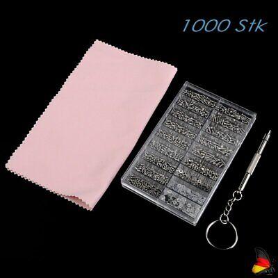 Schraubendreher Set Für Brille Uhren Reparatur Werkzeug 1000tlg Mini Schrauben