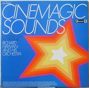 RICHARD HAYMAN & ORCHESTRA Cinemagic Sounds—Switched-On Movie Music LP Gatefold
