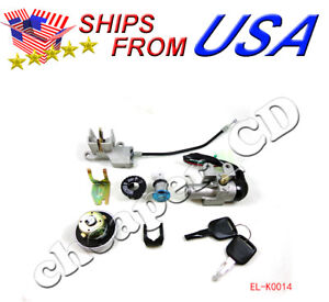 5 Wire Key Ignition Switch Set Scooter Moped 49 50 cc 110 150 250cc ...