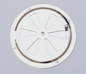 150mm Stainless Steel Butterfly Boat Round Louvred Air