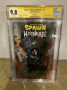 Medieval-Spawn-amp-Witchblade-1-CGC-SS-9-8-Signed-by-Lucio-Parrillo