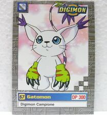 DIGIMON TRADING CARDS - GATOMON 9/34 - CARTE UFFICIALI SERIE TV-1a SERIE