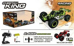 1-16-2-4G-Alta-Velocidad-RC-Control-Remoto-Monster-Buggy-Off-Road-Coche-Rtr-Juguete-King