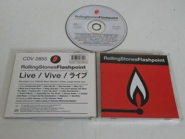 The Rolling Stones – Flashpoint / Virgin CDV 2855 CD Álbum