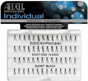 ca37c5d7c05 Image is loading Ardell-DuraLash-Naturals-Flare-Individual-Lashes-Short- Black-