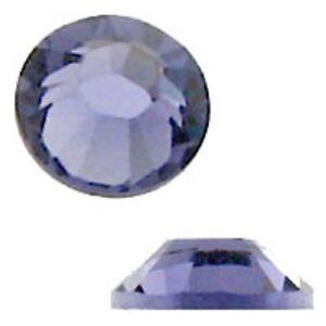 Swarovski Crystal Flatback SS12 Tanzanite Color 3mm. Approx.144 PCS. 2058