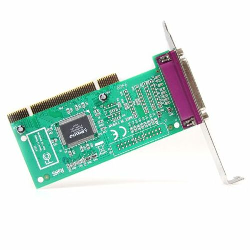 StarTech PCI1PECP 1Port PCI Parallel Adapter Card 1x25-pin DB-25 Female IEEE
