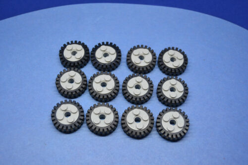 LEGO 12 x Rad Reifen Felge althellgrauoldgrey wheel with rim 3483 6248