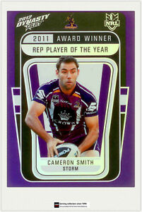No pages Select 2012 NRL DYNASTY TRADING CARDS OFFICIAL ALBUM