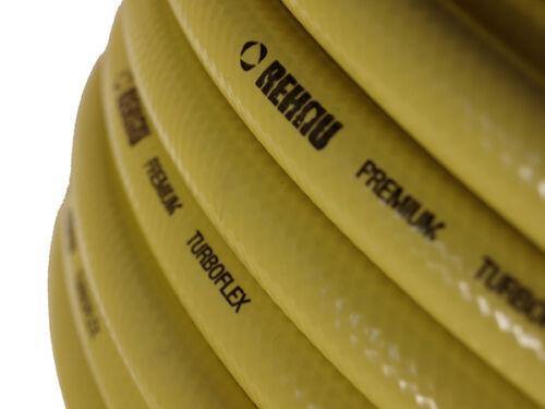 100m REHAU 1//2 Zoll Gartenschlauch Wasserschlauch Turboflex gelb