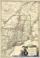 U.s. Revolutionary War theater Battle Map - 1779 - Poster In 5 Sizes