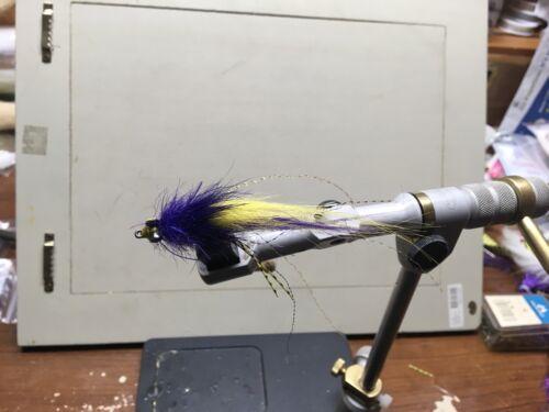 RedFish Tarpon Size 4 Saltwater Flies The Raven  Redfish Fly Snook