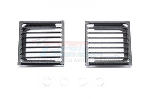 "GPM headlightassembly /""MILITANT/"" brush guard aluminium Traxxas TRX-4"