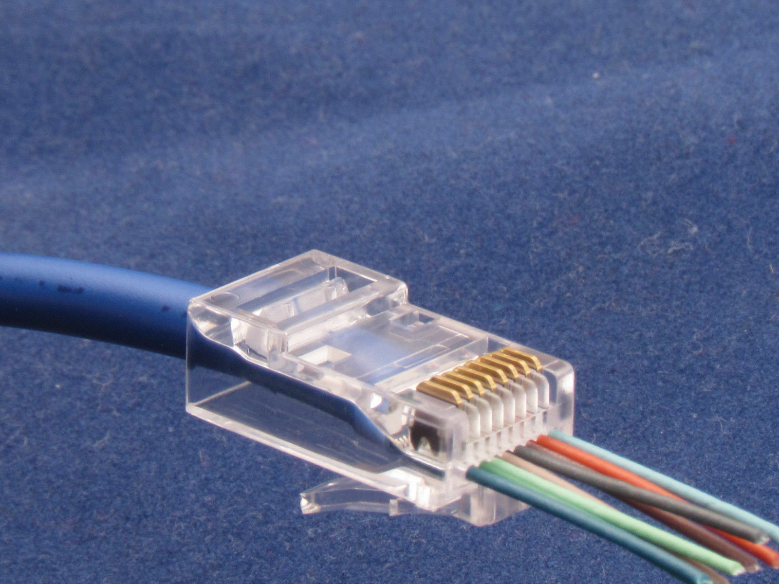 500 Pcs Cat6 Plug Ez Rj45 Network Cable Modular 8p8c Connector End Cat 6 Norton Secured Powered By Verisign
