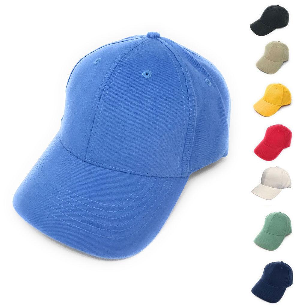 1 Dutzend Fein Gebürstete Baumwolle 6 Panel Low Krone Baseballkappen Hut  | Modern Und Elegant In Der Mode