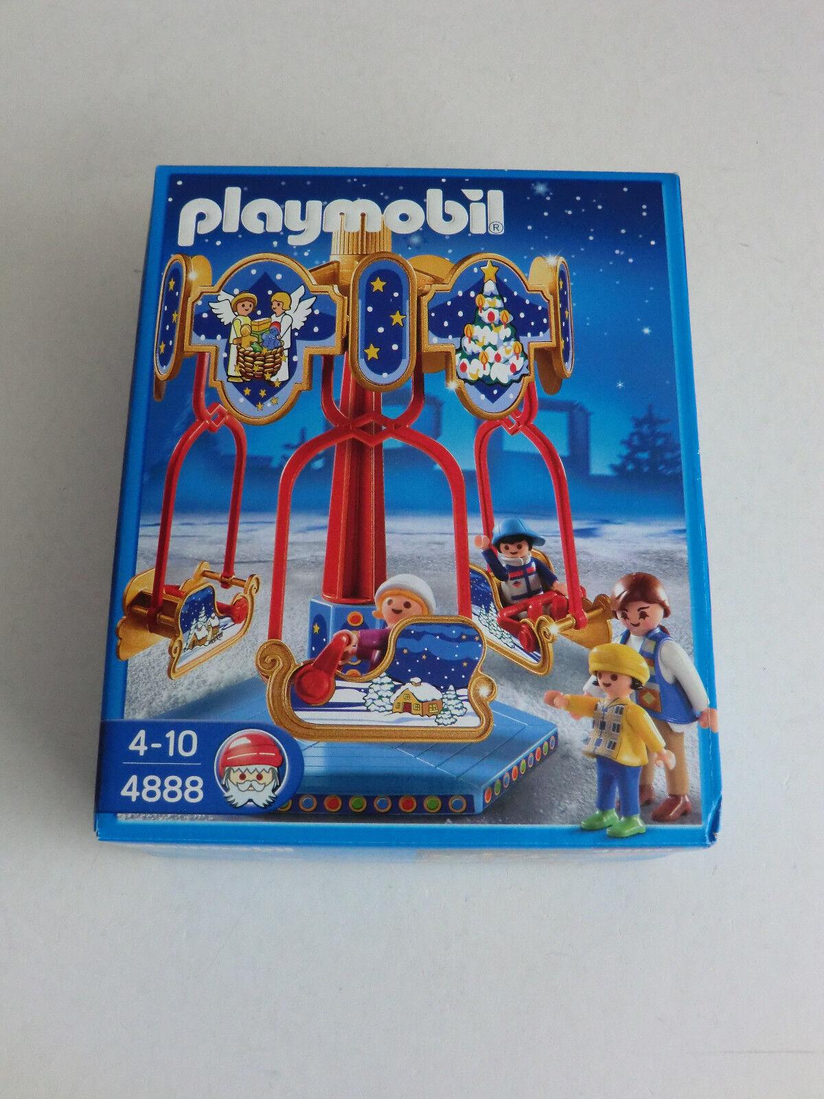 Playmobil 4888 Schlittenkarussell NEU OVP super rar siehe Fotos