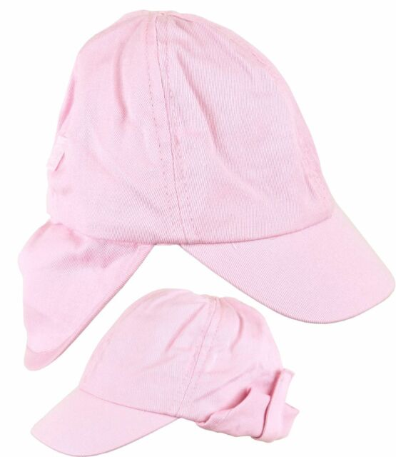 10fedfe7e BabyPrem Baby Hat Sun Cap Girls Neck Protection Clothes 12-18 Months Pink