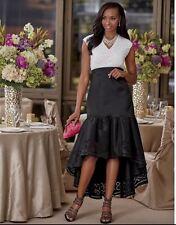 Black and White.  Kera Dress, Gown.  Sz. 14.  Ashro.