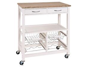 Küchenwagen Servierwagen Beistellwagen Küchentrolley Rollwagen Küche ...