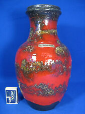 Beautiful glazed  70´s  design Carstens Töpferei Keramik pottery vase  7301 - 28