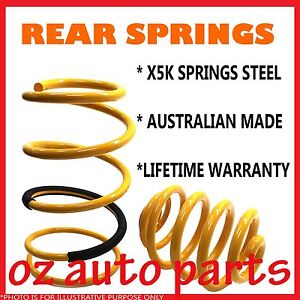 VX V8 COMMODORE WAGON ULTRA LOW F/&R COIL SPRINGS *NEW*