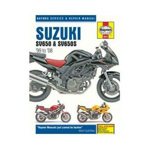 Suzuki SV 650 2008 Haynes Service Repair Manual 3912