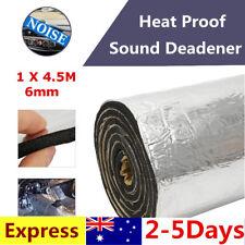 6mm 1M 49sqft Firewall Sound Deadener Car Heat Shield Insulation Deadening Mat
